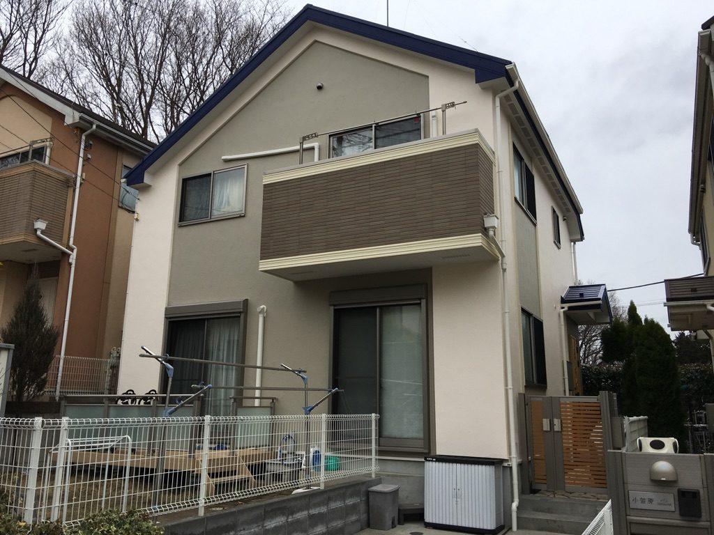 町田市 屋根外壁塗装