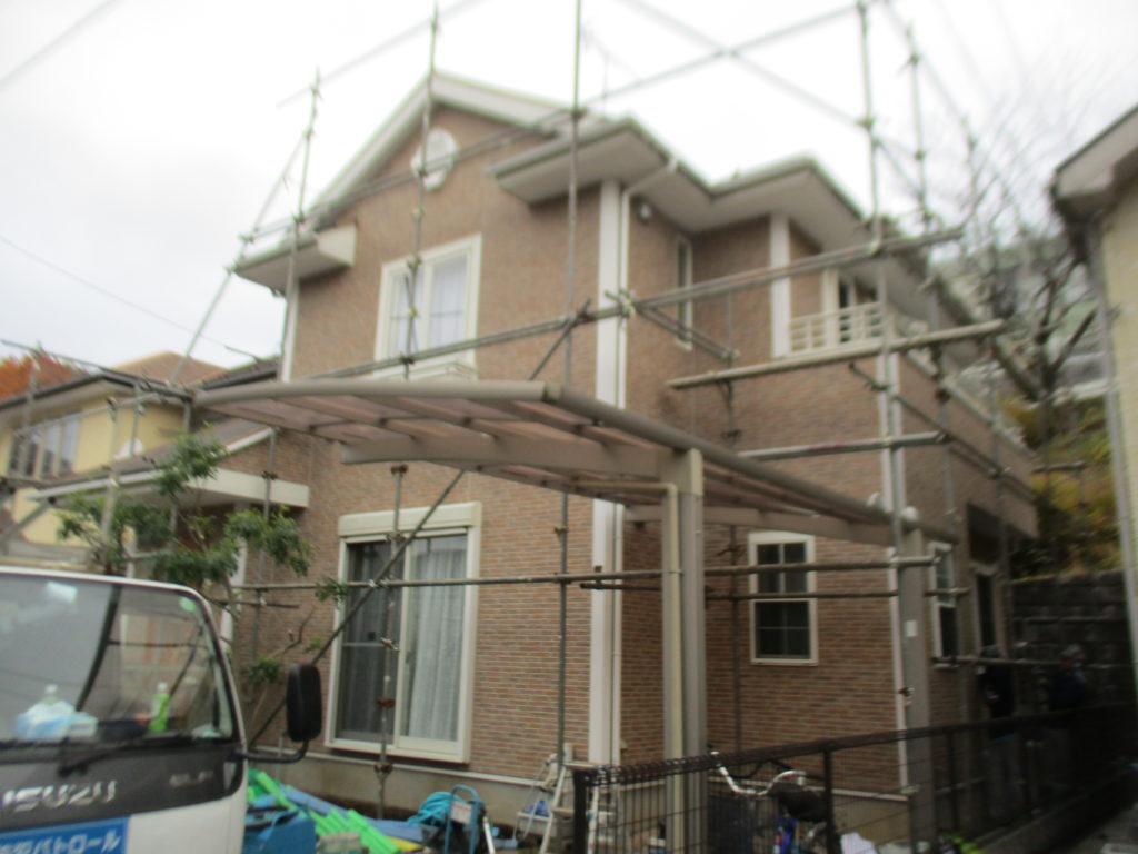 町田外壁塗装施工前