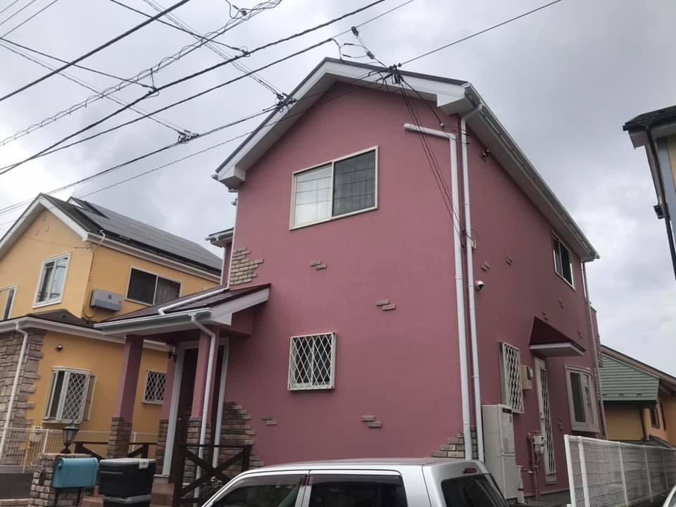 相模原市、町田市、八王子市の外壁塗装、塗替え