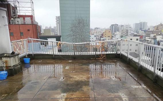 台風 外壁調査